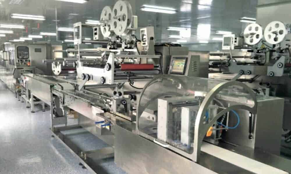 Baby wipes production line 30 120pcs - HOME
