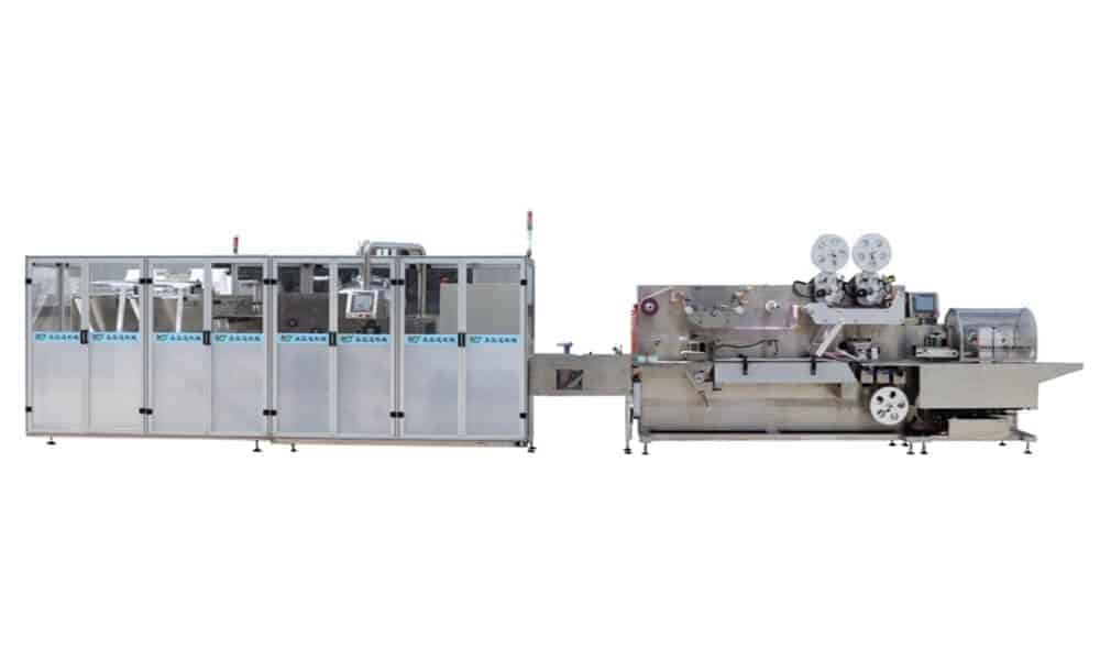 Cross fold wet wipes production line 5 30pcs - HOME