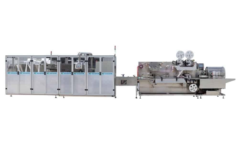 Cross fold wet wipes production line 5 30pcs - HOME