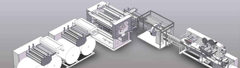 Wet Wipes Machine Manufacturer - HOME