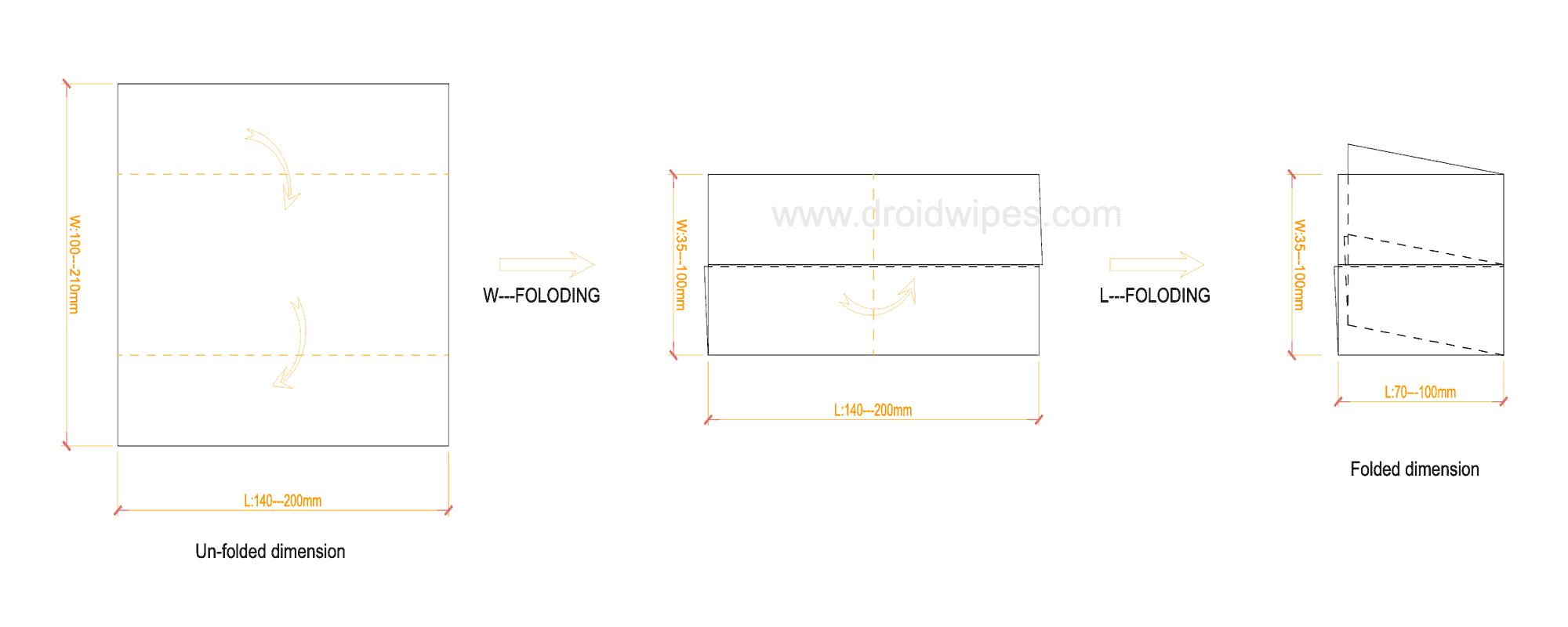 0001wet wipes machine - UT-FL4 Cross fold Wet Wipes Machine (5-40Wipes/pack)