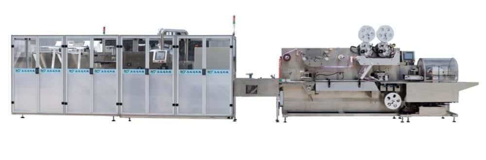 Cross fold wet wipes production line 5 30pcs 1 - UT-FL2 Crossfold pocket wet wipes production line
