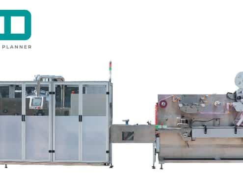 UT-FL4 cross fold wet wipes converting and packaging machine