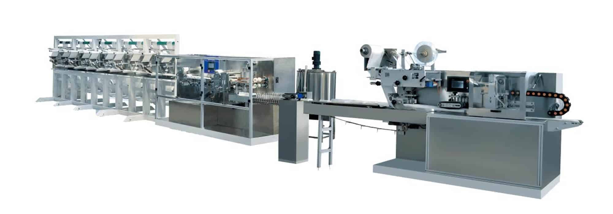 DH 12F Automatic wet wipes production line 1 - DH-12F Automatic wet wipes production line (30-120pcs/pack)
