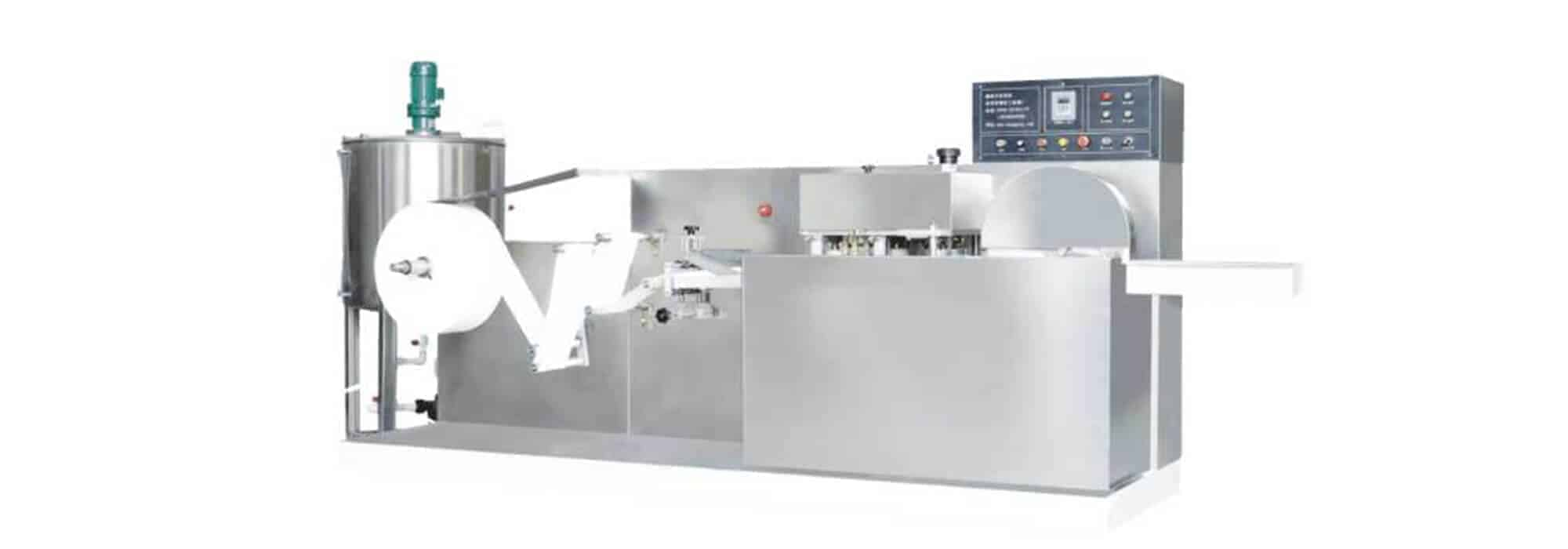 DH 200 wet wipes converting machine  - DH-200 wet wipes converting machine (5-30pcs/pack)