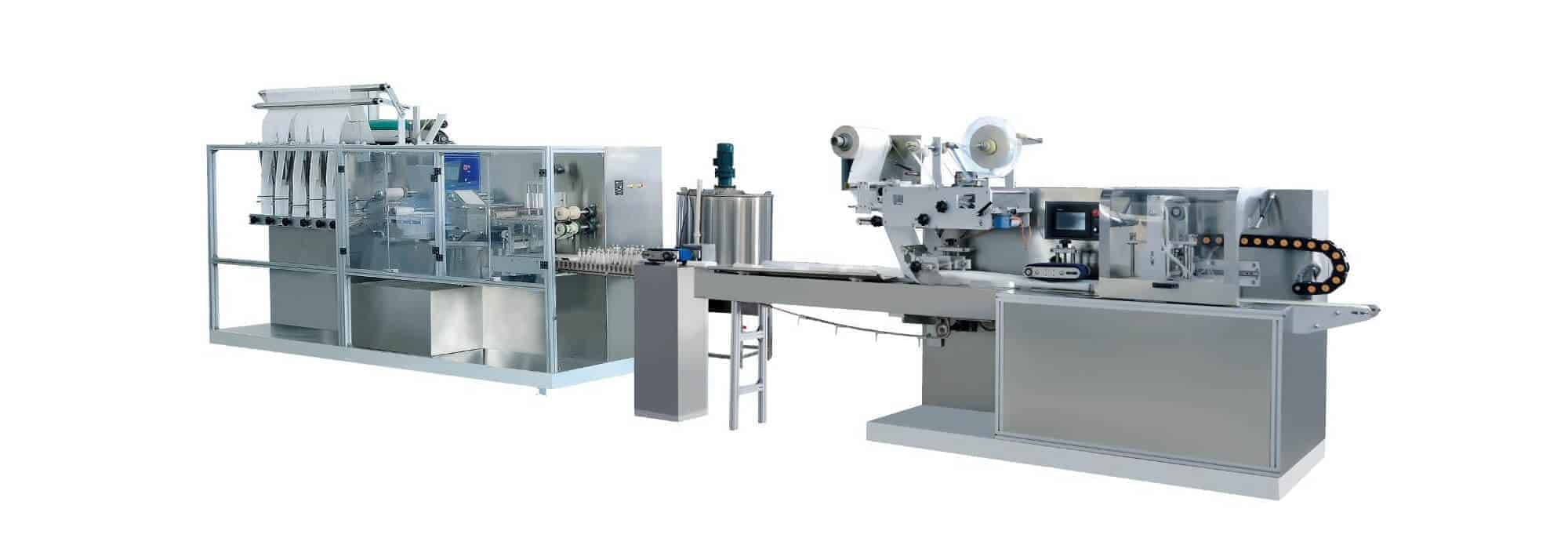 DH 6F Automatic wet wipes production line - DH-6F Automatic wet wipes production line (30-120pcs/pack)