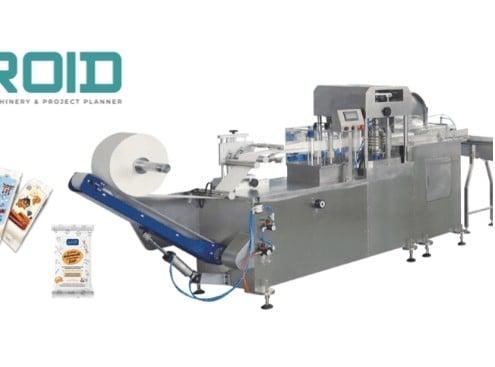UT-FL1 crossfold wet wipes folding machine