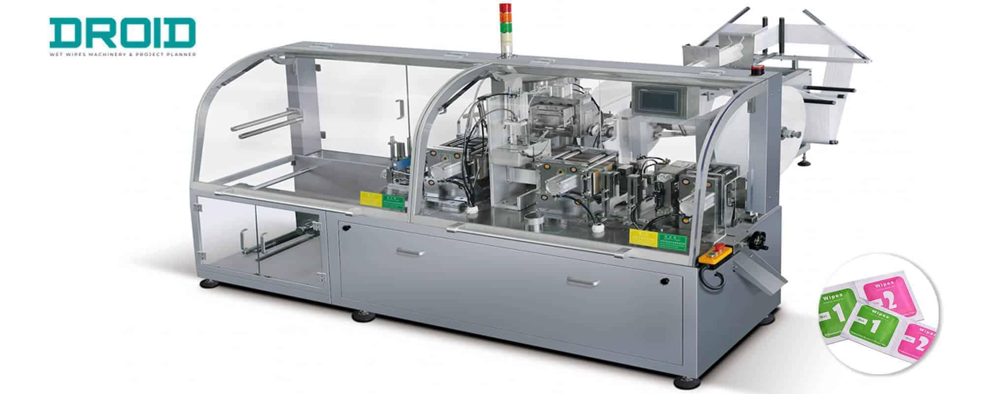 DH 250 Single Sachet Wet Wipes Machine - Wet Wipes Machine Products