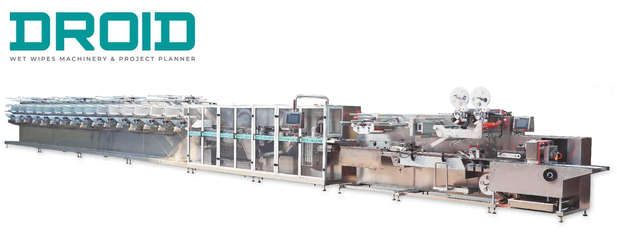 UT BM1620 Flow pack wet wipes converting machine and packaging machine - Wet Wipes Machine Products