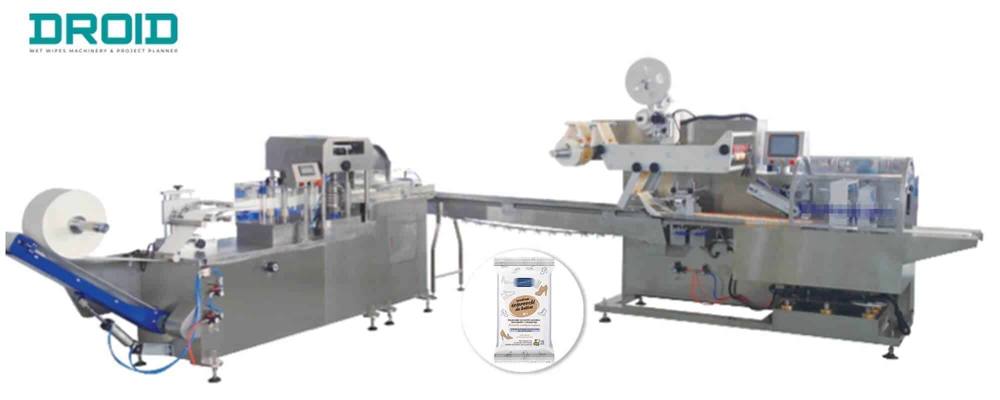 UT FL1UT WP cross fold wet wipes machine - Are you looking for Disinfectant Wet Wipes Machine?