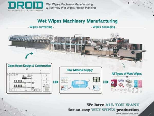 Wet Wipes Machine Manufacturer Cum Project Planner – Droid Group 1 - How to Import Wet Wipes Machines From China-A Guide On Shipping Process