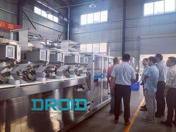 Wet Wipes Machine Manufacturer Cum Project Planner – Droid Group 3 - ABOUT US