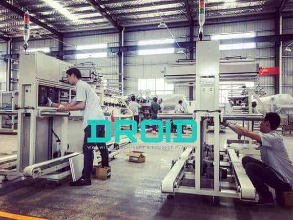 Wet Wipes Machine Manufacturer Cum Project Planner – Droid Group 4 - ABOUT US