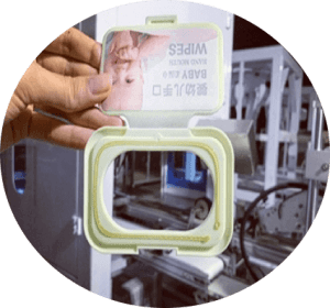wet wipes lid applicator3 300x280 - A Buying Guide for Wet Wipes Lid Applicator (Capping Machine)