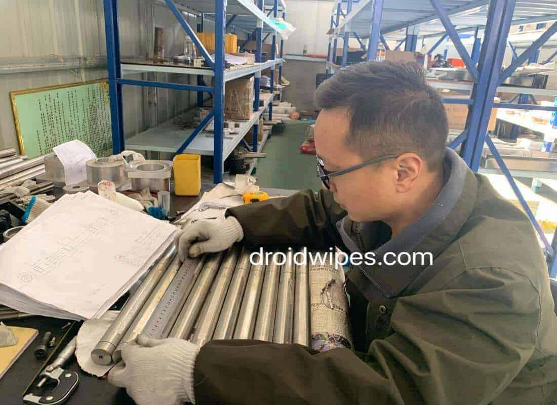 Droid Group Wet wipes machine - ABOUT US