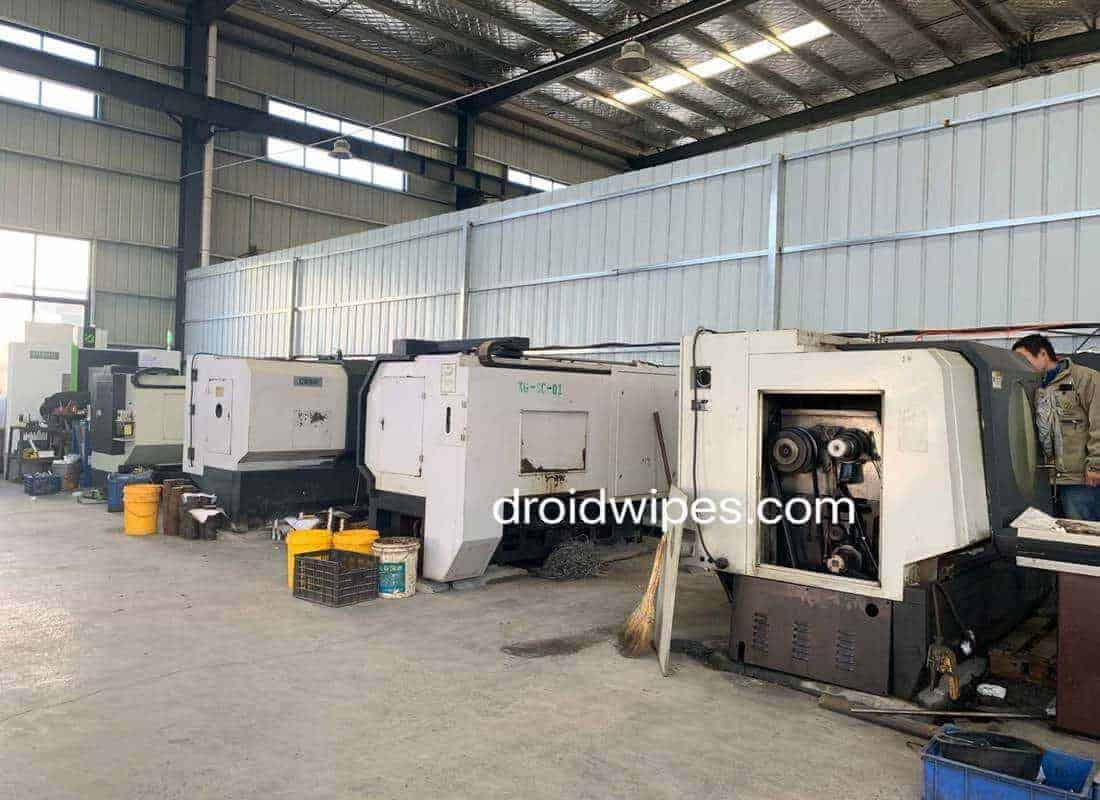 Droid Group wet wipes machine manufacturer - Gallery