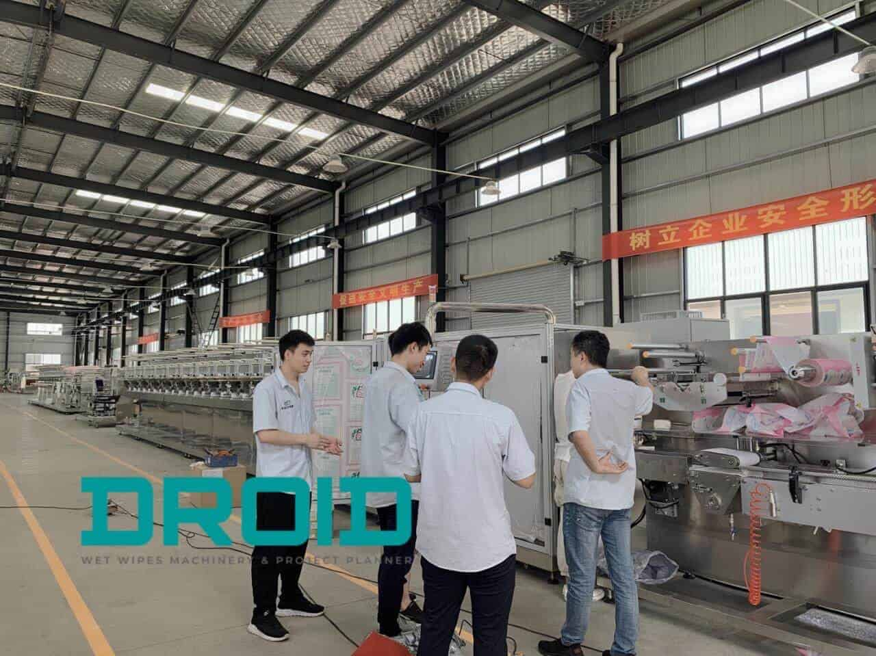 baby wet wipes packaging machine manufacturer - Gallery