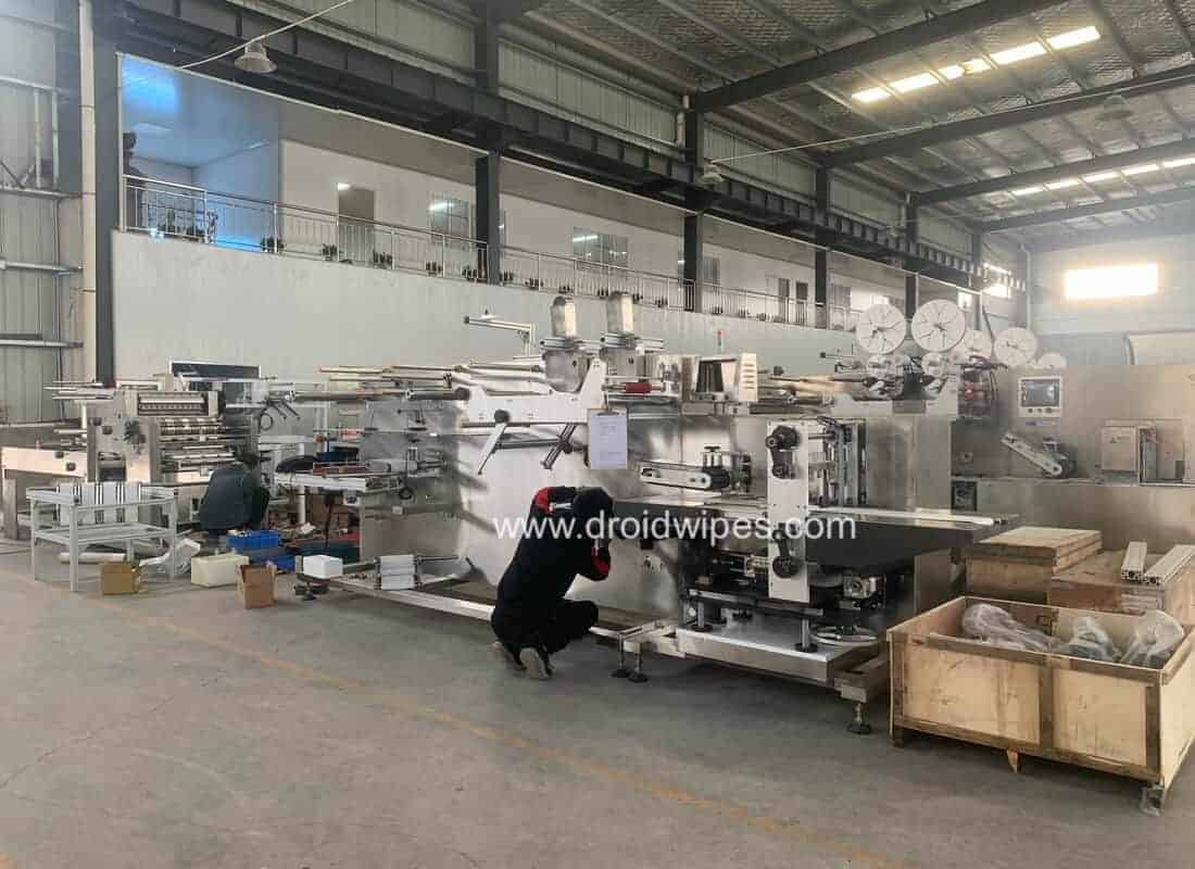 disinfectant wet wipes machine manufacturer - ABOUT US