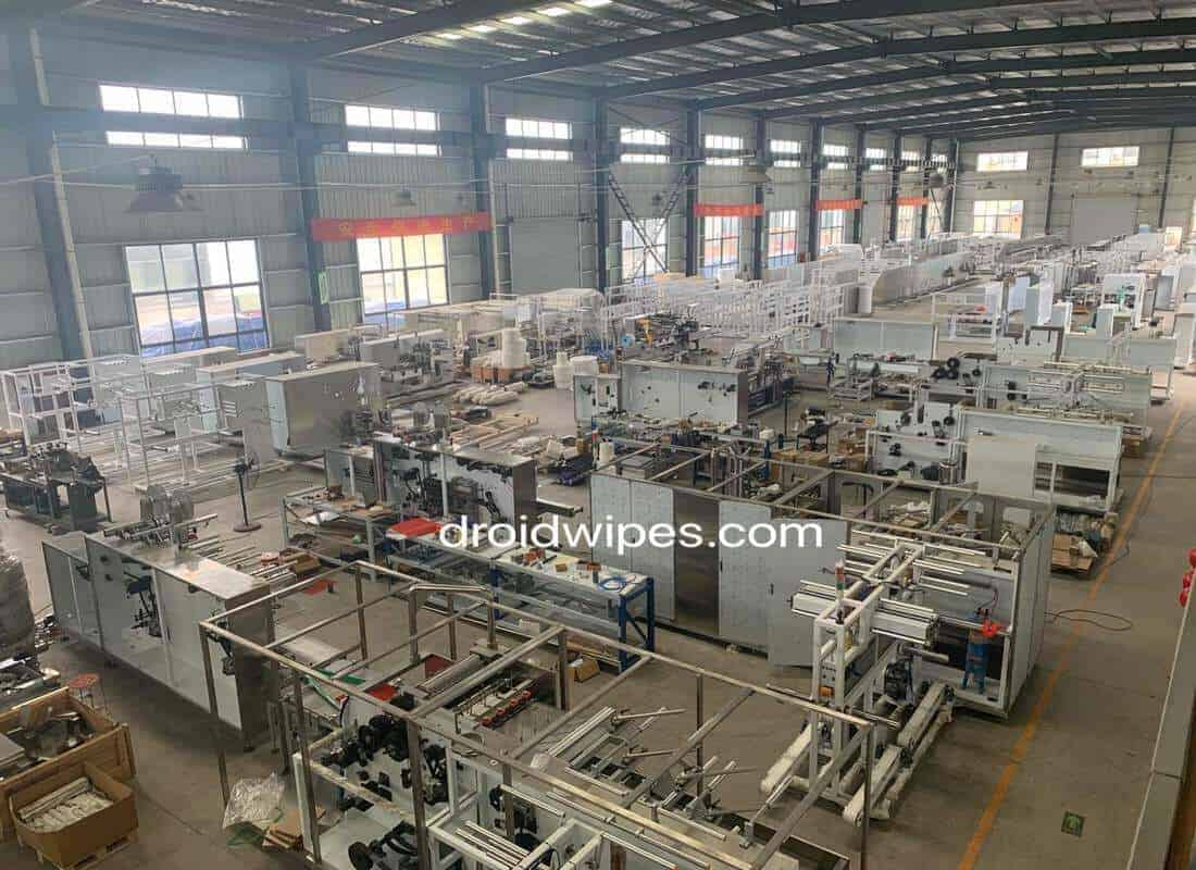 wet wipes machine manufacturer china - Gallery