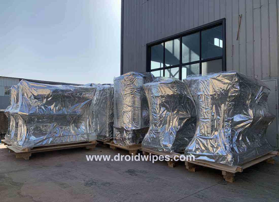 wet wipes machine supplier china  - Gallery