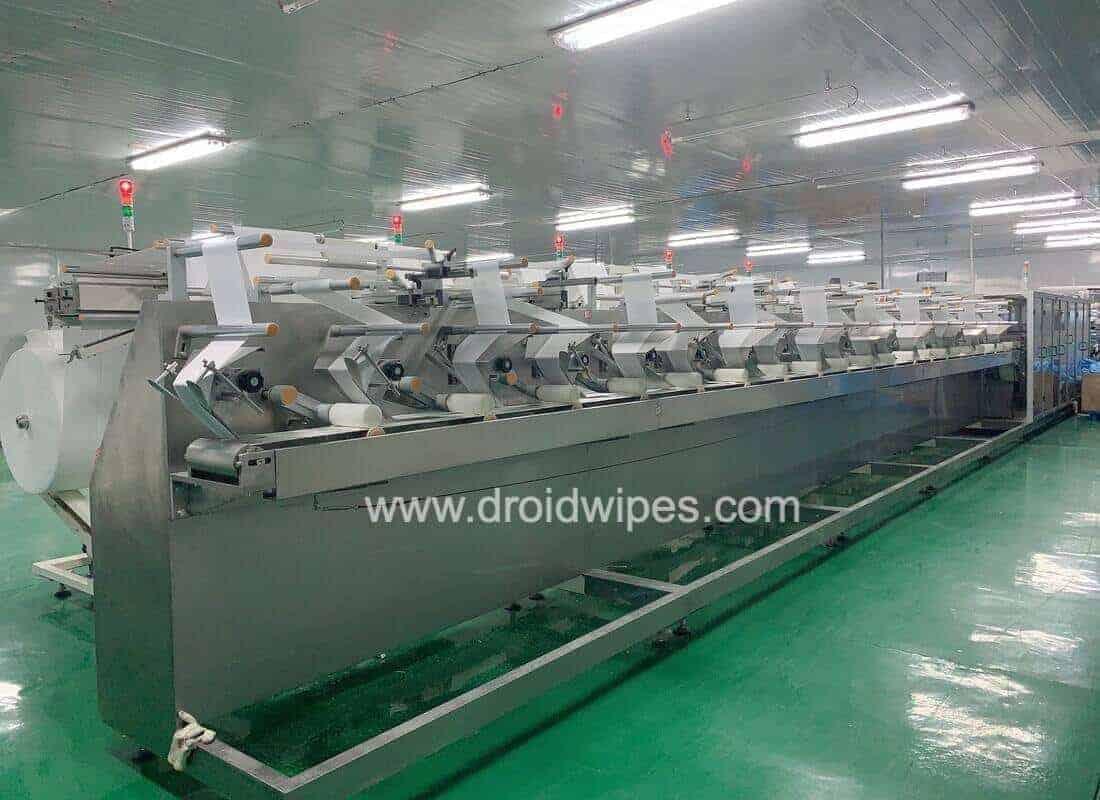 wet wipes machine8 1 - Wet Wipes Machine Products