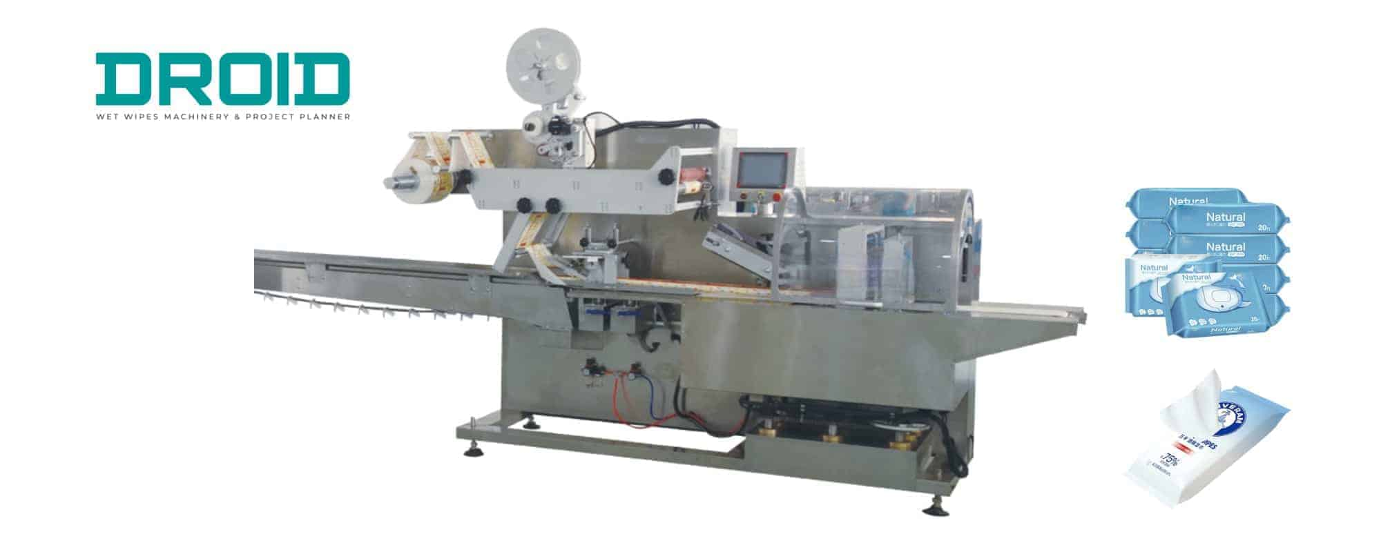 wet wipes packaging machine2 - Wet Wipes Packaging Machine