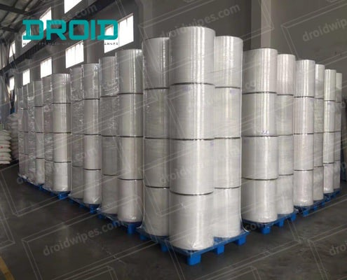 wet wipes material spunlace nonwoven 1 2 - Wet Wipes Material_Spunlace Nonwoven