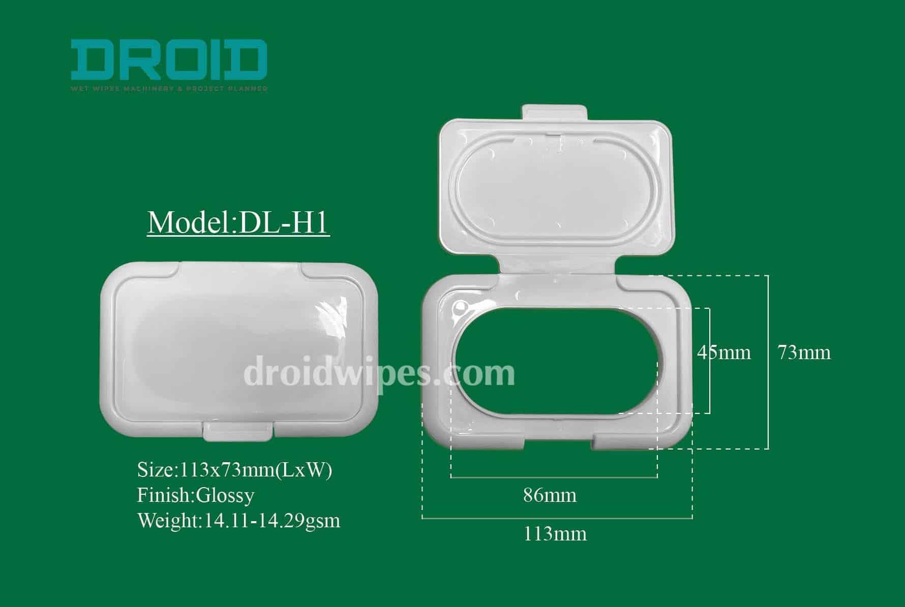 Plastic lid for wet wipes 0 - Plastic Lid for Wet Wipes