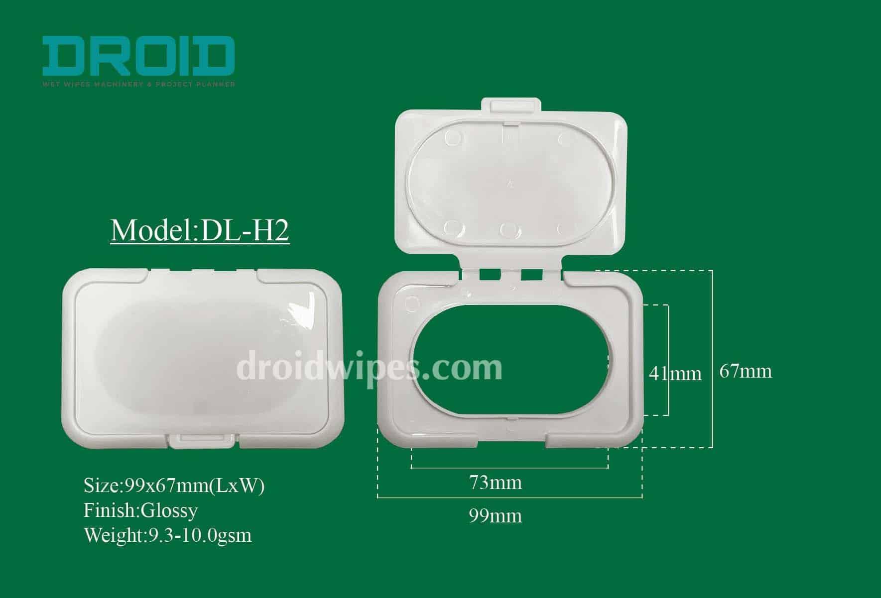 Plastic lid for wet wipes 1 - Plastic Lid for Wet Wipes