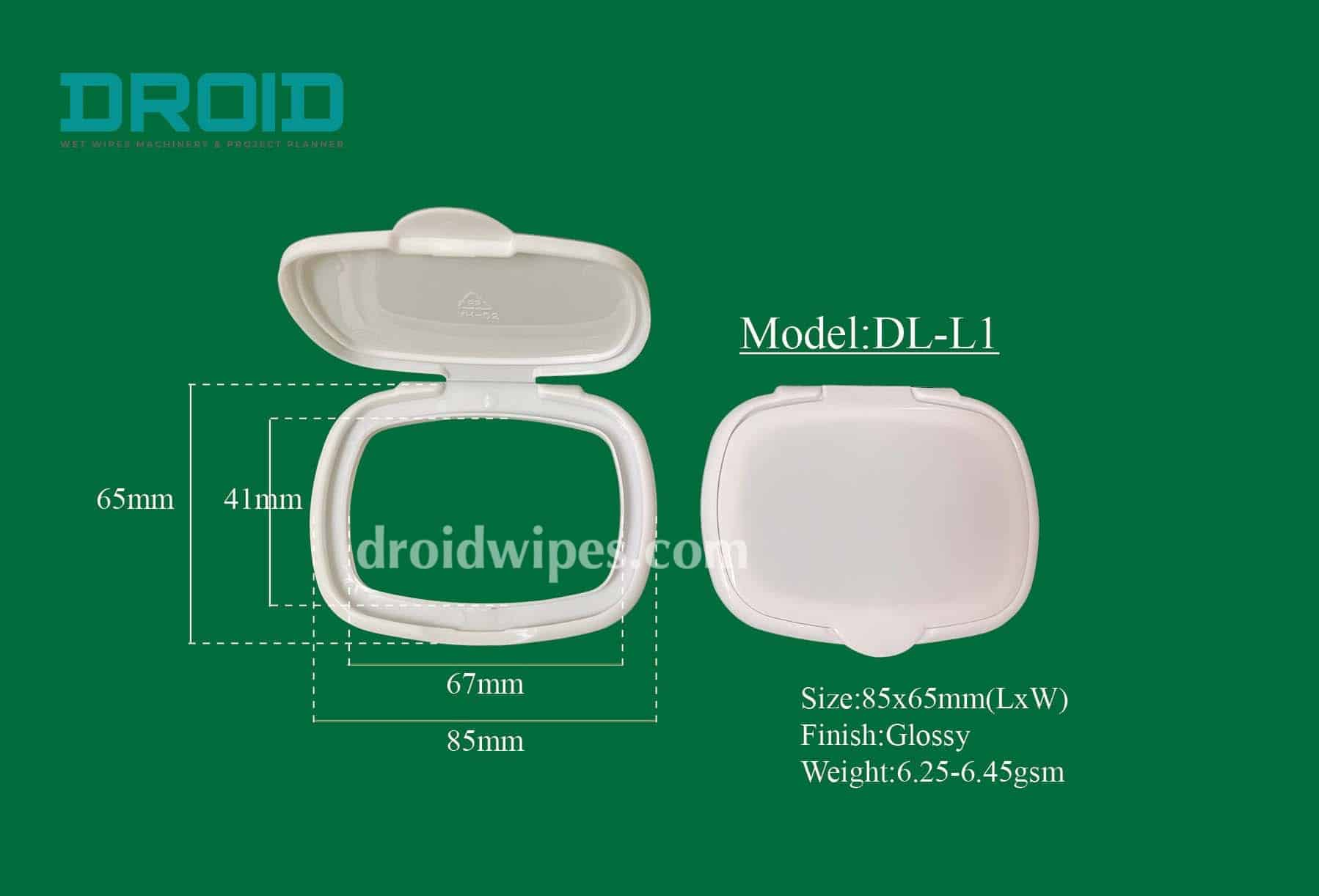 Plastic lid for wet wipes 10 - Plastic Lid for Wet Wipes