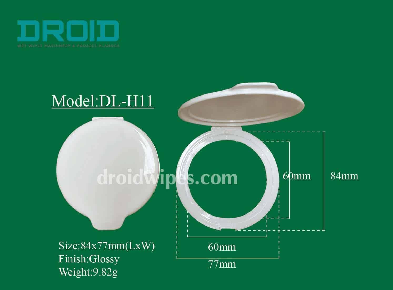 Plastic lid for wet wipes 11 - Plastic Lid for Wet Wipes