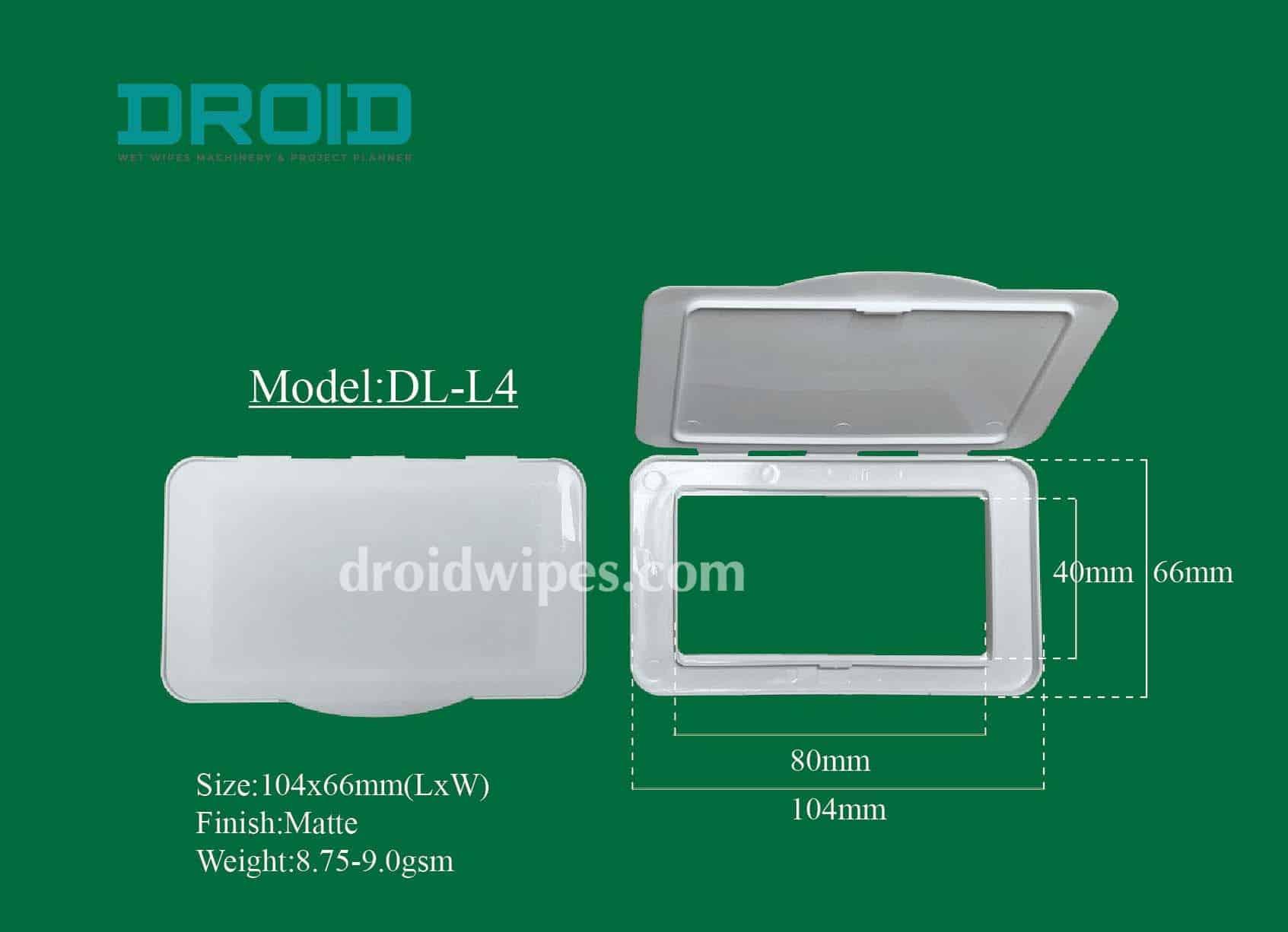 Plastic lid for wet wipes 14 - Plastic Lid for Wet Wipes