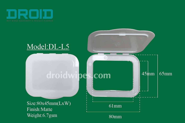 Plastic lid for wet wipes 15 - Plastic Lid for Wet Wipes