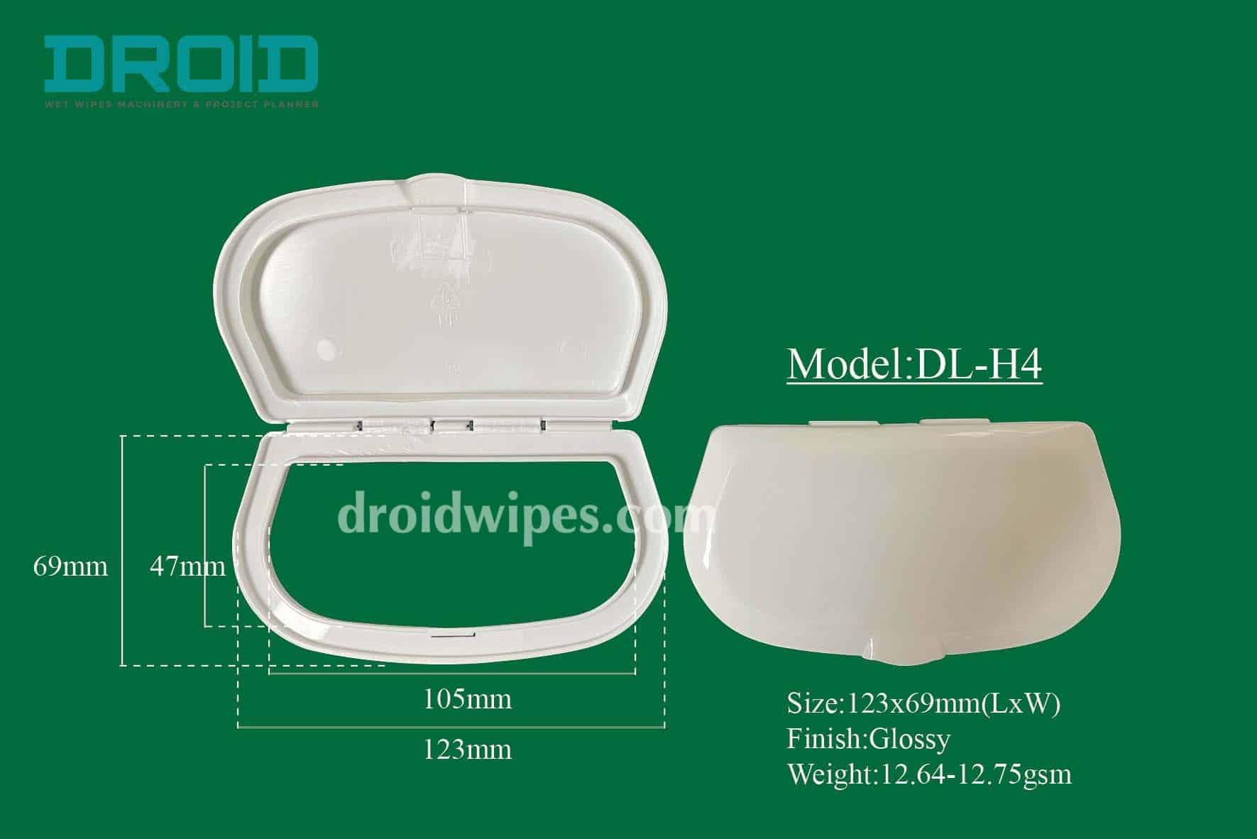 Plastic lid for wet wipes 3 - Plastic Lid for Wet Wipes