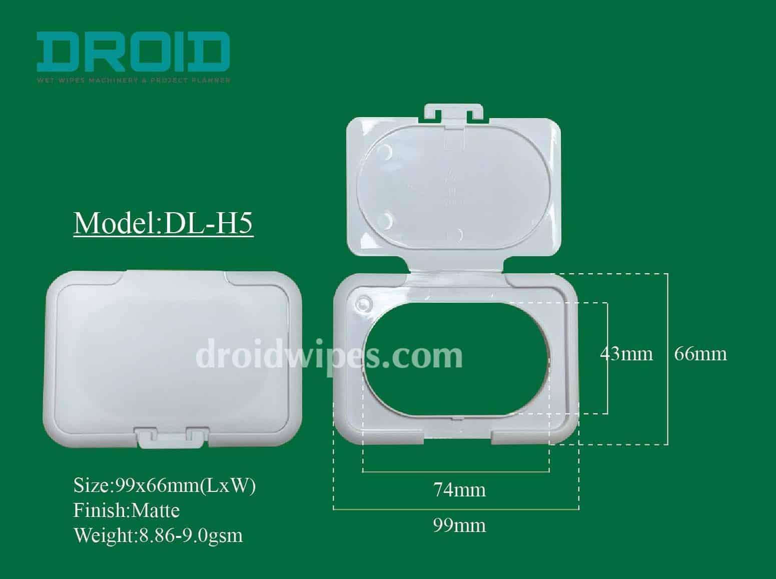 Plastic lid for wet wipes 4 - Plastic Lid for Wet Wipes