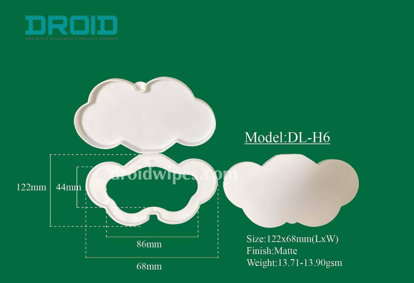 Plastic lid for wet wipes 5 - Plastic Lid for Wet Wipes