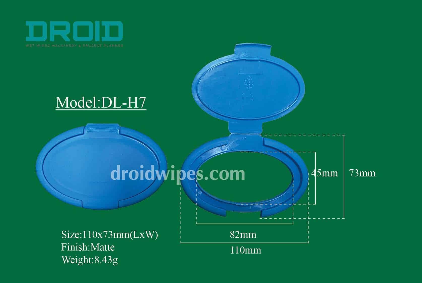 Plastic lid for wet wipes 6 - Plastic Lid for Wet Wipes