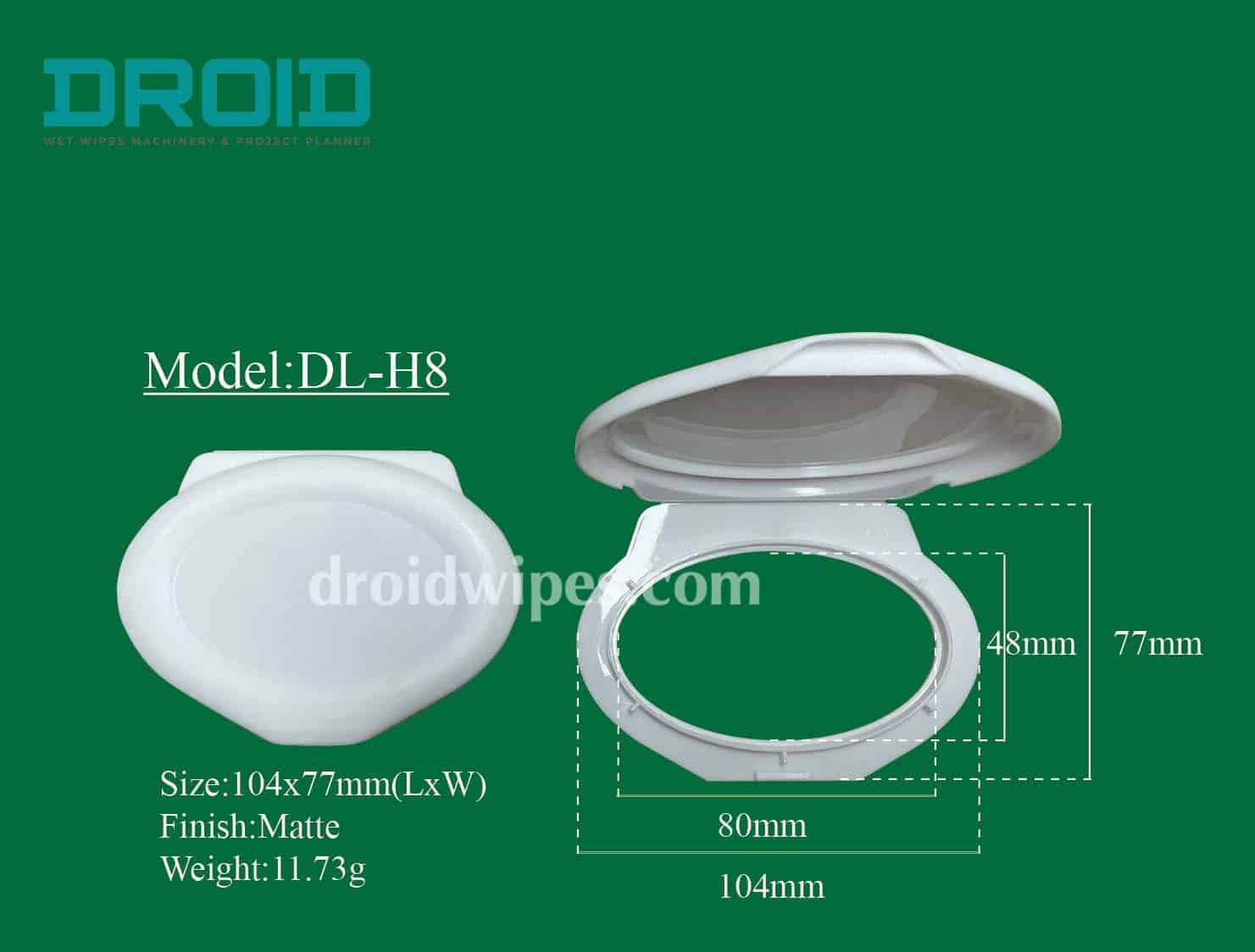 Plastic lid for wet wipes 7 - Plastic Lid for Wet Wipes