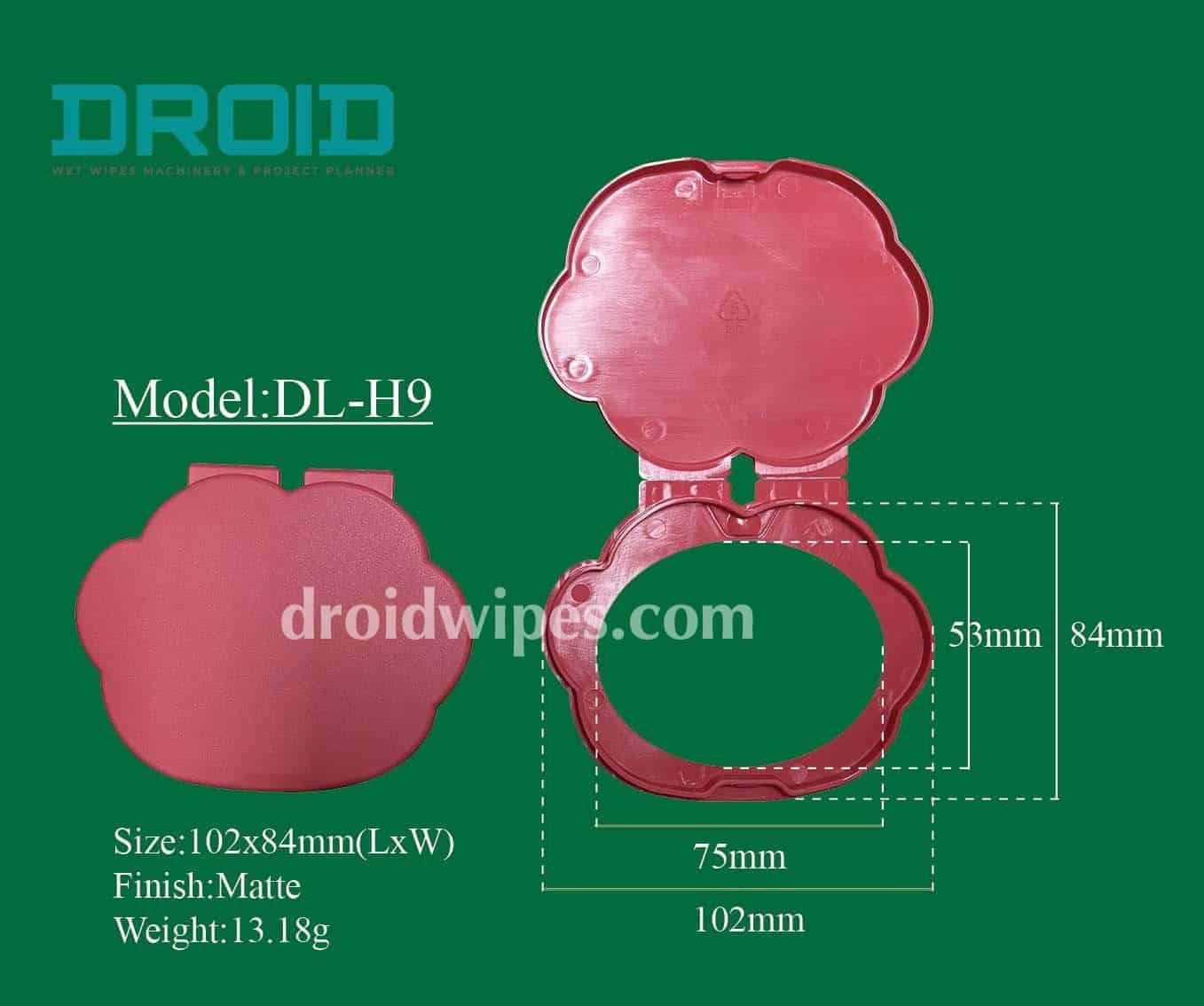 Plastic lid for wet wipes 8 - Plastic Lid for Wet Wipes