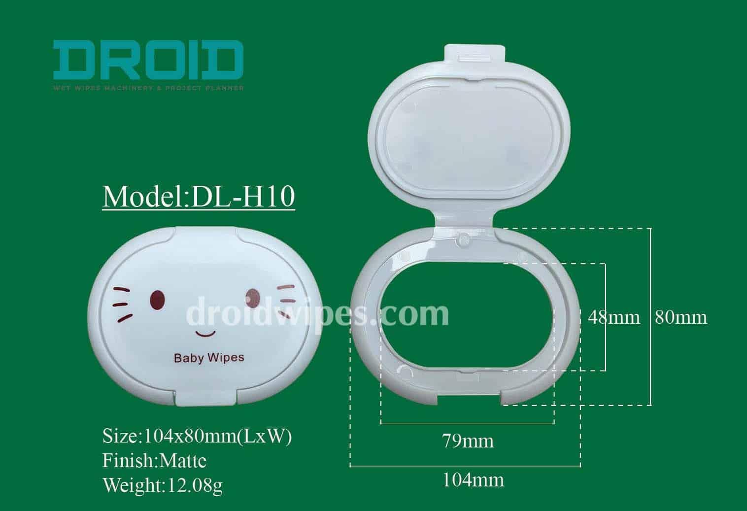 Plastic lid for wet wipes 9 - Plastic Lid for Wet Wipes