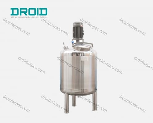 Mixing tanks for wet wipes 495x400 - Wet Wipes Auxiliary Equipment & Accessories